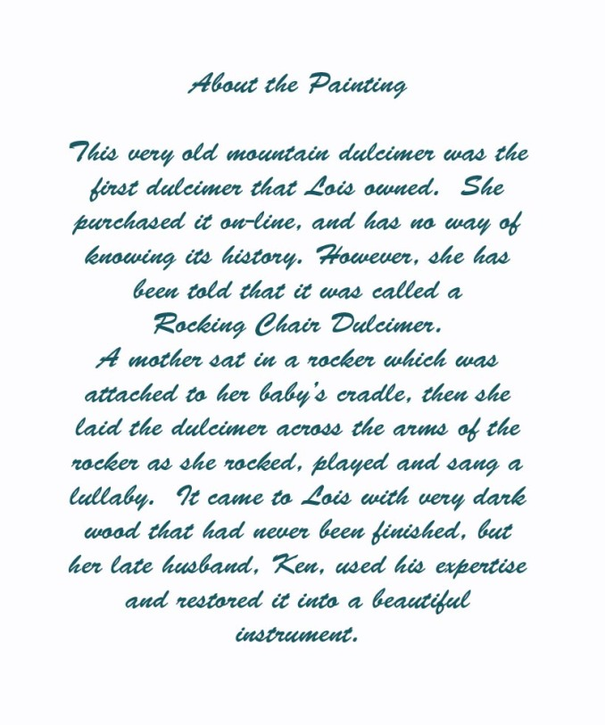 About the dulcimer copy